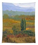 un altro pomeriggio in Toscana Tapestry by Guido Borelli