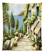Un Canarino Tapestry by Guido Borelli