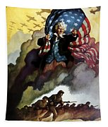 Uncle Sam - Buy War Bonds Tapestry