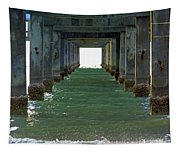 Under Clearwater Pier 60 Tapestry