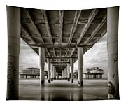Under The Boardwalk Tapestry