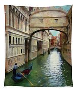 Under The Bridge Of Sighs Tapestry