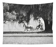 Under The Oaks Tapestry