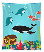 Under The Sea-jp2988 Tapestry