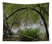 Under The Wild Wood Arch Tapestry