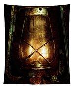 Underground Mining Lamp  Tapestry