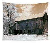 Underground Railroad Slave Hideout Tapestry