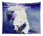 Underwater Bear Tapestry