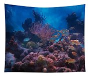 Underwater Paradise Tapestry