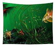Underwater Wonderland  Diving The Reef Series. Tapestry