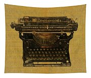Underwood Typewriter On Text Tapestry