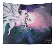 Unicorn And The Universe Tapestry
