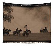 Union Cavalry Charge Tapestry