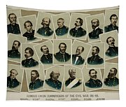Union Commanders Of The Civil War   Tapestry