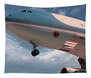 United States Air Force One Tapestry