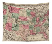 United States Of America Tapestry