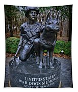United States War Dog Memorial Tapestry