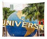 Universal Studio Globe Tapestry
