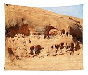 Unusual Rock Formation Tapestry