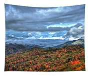 Up In The Clouds Blue Ridge Parkway Mountain Art Tapestry