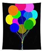 Upbeat Balloons Tapestry