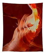 Upper Antelope Canyon Textures Tapestry