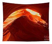 Upper Antelope Sunlit Layers Tapestry