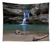 Upper Falls In Hocking Hills Tapestry