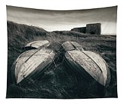 Upturned Boats Tapestry