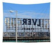 Urban Landscape Long Island City Tapestry