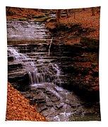 Urban Waterfall Tapestry