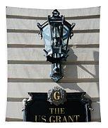 Us Grant Corner Plaque Tapestry