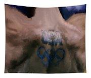 Us Olympian Tattoo Tapestry