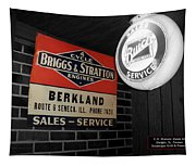 Us Route 66 Briggs And Stratton Signage Sc Tapestry