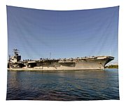 Uss Abraham Lincoln Tapestry