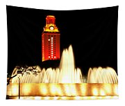 Ut Tower Championship Win Tapestry