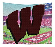 Uw Game Day Poster - Oil Tapestry