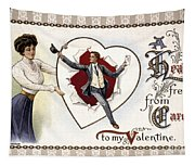 Valentines Day Card, 1909 Tapestry