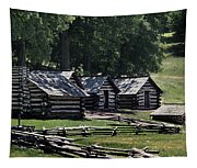 Valley Forge Barracks Tapestry