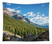 Valley Near Moraine Lake Banff Tapestry