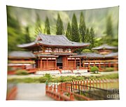 Valley Of The Temples Tapestry