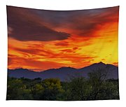 Valley Sunset H32 Tapestry