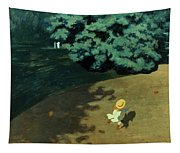 Valloton: Balloon, 1899 Tapestry