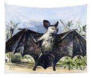 Vampire Bat Tapestry