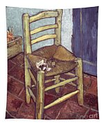 Van Gogh: Chair, 1888-89 Tapestry