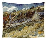 Van Gogh: Cottages, 1890 Tapestry
