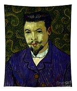 Van Gogh: Dr Rey, 19th C Tapestry