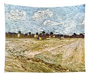 Van Gogh: Fields, 1888 Tapestry