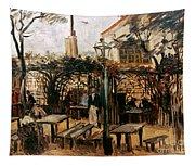Van Gogh: Guingette, 1886 Tapestry