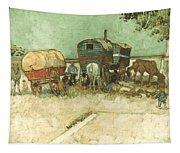 Van Gogh: Gypsies, 1888 Tapestry